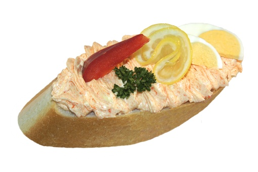 Whipped salmon