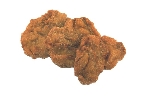 Breaded liver